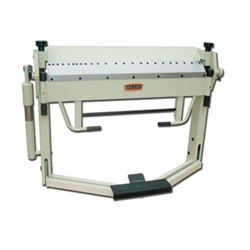 "Baileigh BB-4012F, 40"" x 12 Gauge Box & Pan Brake with Foot Clamp"
