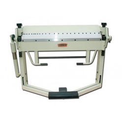 "Baileigh BB-5014F, 50"" x 14 Gauge Box & Pan Brake with Foot Clamp"