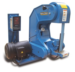 "Baileigh BG-260-3-110, 2"" x 60"" 3-Wheel Belt Grinder"