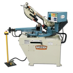 Baileigh BS-260SA, Semi-Auto Horizontal Band Saw