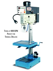 "Baileigh DP-1250VS-HS, 20"" High-Speed Thermal Friction Drill Press (2 HP, 220V, 1 Phase)"