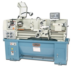 Baileigh PL-1340, Geared Head Precision Metal Lathe with Digital Readout