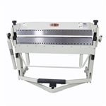 "Baileigh BB-5016F-DS, 50"" x 16 Gauge Reversible Box & Pan Brake with Foot Clamp"