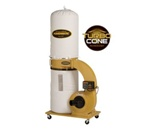 Powermatic PM1300TX-BK Dust Collector w/ 30-Micron Bag Filter (1.75 HP, 1 Ph., 115/230V)