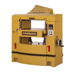 "Powermatic WP2510, 25"" Planer w/ Helical Cutterhead (15 HP, 3 Ph., 230/460V)"