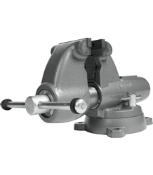 "Wilton C-2, Combo. Pipe and Bench Vise with Swivel Base (5"" Jaw)"