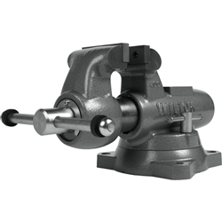 "Wilton 400S Machinists' Bench Vise Swivel Base, 4"" Jaw Width"