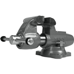 "Wilton 500S Machinists' Bench Vise Swivel Base, 5"" Jaw Width"