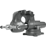 "Wilton 600S Machinists' Bench Vise Swivel Base, 6"" Jaw Width"