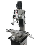 JET JMD-45GHPF, Geared Head Square Column Mill/Drill w/ Power Downfeed (1-1/2HP, 1Ph, 115/230V)