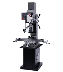 JET JMD-45VSPF, Variable Speed Geared Head Square Column Mill/Drill w/ Power Downfeed (1-1/2HP, 1Ph, 115/230V)