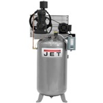 JET JCP-804, 80 Gallon Vertical Air Compressor (Two-Stage, 7.5HP, 3 Ph. 230/460V)