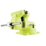 "Wilton 1550, 5"" High-Visibility Safety Vise with Swivel Base"