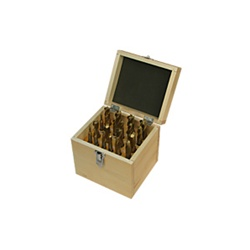 JET 20-Piece TiN-Coated Double End Mill Set