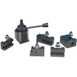 JET 200-Series Quick Change Wedge Type Tool Post Set