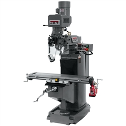 "JET JTM-949EVS, JET 9"" x 49"" Electronic Variable Speed Vertical Milling Machine (3HP, 3Ph, 230V)"