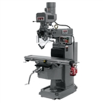 "JET JTM-1050EVS2, 10"" x 50"" Electronic Variable Speed Vertical Milling Machine (3HP, 3Ph, 230V)"
