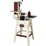 "JET JSG-6DCK, 6"" x 48"" Belt / 12"" Disc Sander w/ Open Stand (1.5 HP,  1 Ph., 115/230V)"