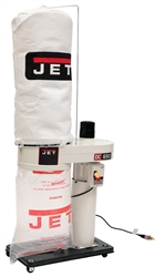 JET DC-650 Dust Collector w/ 5-Micron Bag Filter Kit