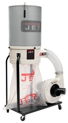 JET DC-1100VX-CK Dust Collector w/ 2-Micron Canister Filter (1.5 HP, 1 Ph., 115/230V)