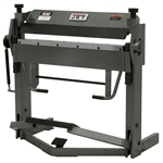 "JET BPF-1240, 40"" x 12 Ga. Floor Box & Pan Brake with Foot Clamp"