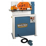 Baileigh SW-44, 4-Station Hydraulic Ironworkers (1 or 3 Ph. 220V)