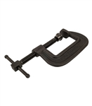 "Wilton 106, 100-Series Forged C-Clamp - Heavy-Duty, 2"" - 6"" Jaw Opening, 2-1/2"" Throat Depth"