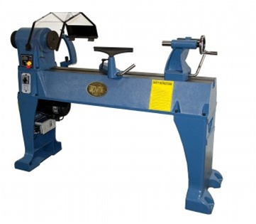 10in X 18in 5 Speed 1/2 HP Benchtop Wood Lathe Turning Workpiece ...