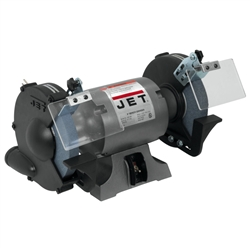 "JET JBG-8A, 8""  Bench Grinder (8"" x 1"" Wheel, 1HP)"